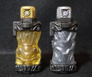 ゴールドラビット&シルバードラゴンフルボトル